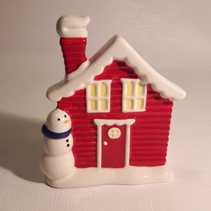 Bath and Body Works Soap Dish Holder Christmas